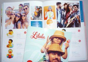 Layout für Spielzeugkataloge der Firma LiLaLu Aachen