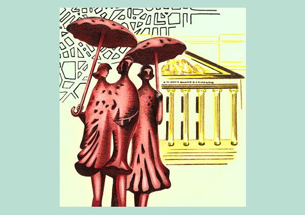 Illustration für das Buchcover eines Regionaltitels