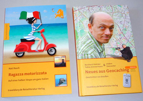 Cover – Bildcollagen für eine Edition aus dem traveldiary.de Reiseliteratur-Verlag