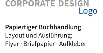 Layout und Ausführung: Flyer · Briefpapier · Aufkleber