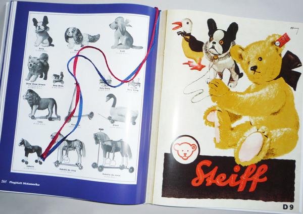 Editorial Design · Bücher · Steiff Kataloge 1920-1929 · Layout und Reinzeichnung für eine Sammlung historischer Dokumente www.teddydorado.de